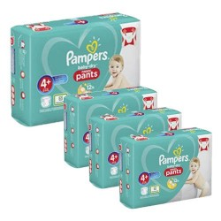 Giga pack 246 Couches Pampers Baby Dry Pants taille 4+ sur Couches Zone