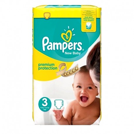 Pack 29 Couches Pampers Premium Protection taille 3 sur Couches Zone