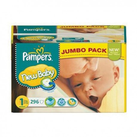 Giga pack 224 Couches Pampers Premium Protection taille 1 sur Couches Zone