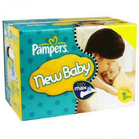 Maxi giga pack 336 Couches Pampers Premium Protection taille 1 sur Couches Zone