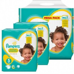 Pack jumeaux 884 Couches Pampers Premium Protection taille 5 sur Couches Zone