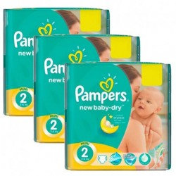 Maxi mega pack 476 Couches Pampers New Baby Dry taille 2