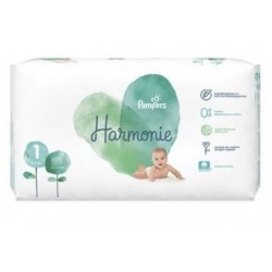 Pack 68 Couches Pampers Harmonie taille 1 sur Couches Zone