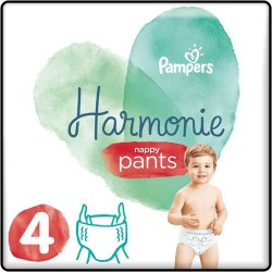Pack 58 Couches Pampers Harmonie Pants taille 4 sur Couches Zone