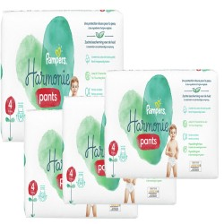 Mega pack 116 Couches Pampers Harmonie Pants taille 4 sur Couches Zone