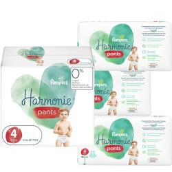 Maxi mega pack 464 Couches Pampers Harmonie Pants taille 4 sur Couches Zone