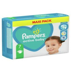 Pack 66 Couches Pampers Active Baby Dry taille 7 sur Couches Zone