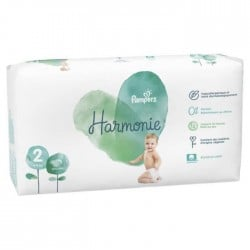 Pack 78 Couches Pampers Harmonie taille 2 sur Couches Zone