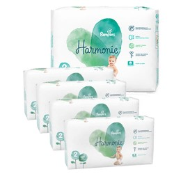 Pack jumeaux 624 Couches Pampers Harmonie taille 2 sur Couches Zone