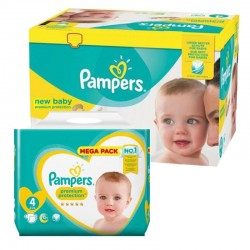 Mega pack 120 Couches Pampers Premium Protection taille 4 sur Couches Zone