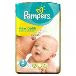 Pack 31 Couches Pampers Premium Protection taille 2 sur Couches Zone