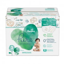 Maxi giga pack 308 Couches Pampers Pure Protection taille 3 sur Couches Zone