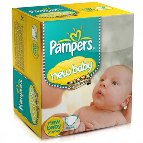 Baby Dry - Pack économique 288 Couches de Pampers taille 2 sur Couches Zone