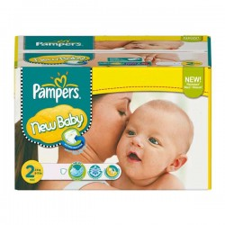 Baby Dry - Pack économique 288 Couches de Pampers taille 2
