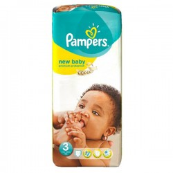 Pack 20 Couches Pampers New Baby Premium Protection taille 3 sur Couches Zone