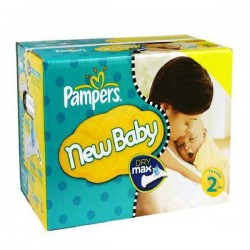 217 Couches Pampers New Baby Premium Protection taille 2 sur Couches Zone