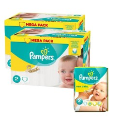 160 Couches Pampers New Baby Premium Protection taille 2 sur Couches Zone