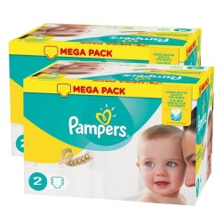 320 Couches Pampers New Baby Premium Protection taille 2 sur Couches Zone