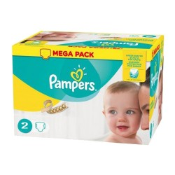 Pack jumeaux 560 Couches Pampers New Baby Premium Protection taille 2