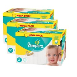 Pack jumeaux 640 Couches Pampers New Baby Premium Protection taille 2