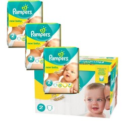 Pack jumeaux 720 Couches Pampers New Baby Premium Protection taille 2 taille 2