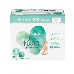 Maxi mega pack 405 Couches Pampers Pure Protection taille 2
