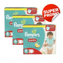 Mega pack 112 Couches Pampers Baby Dry Pants taille 6 sur Couches Zone