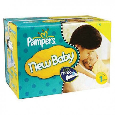 Giga pack 288 Couches Pampers New Baby Premium Protection taille 1 sur Couches Zone