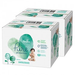 Mega pack 154 Couches Pampers Pure Protection taille 3 sur Couches Zone
