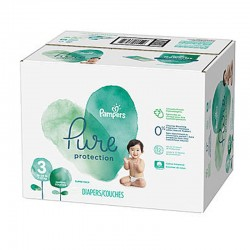 Maxi giga pack 308 Couches Pampers Pure Protection taille 3