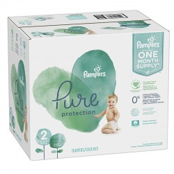 Mega pack 108 Couches Pampers Pure Protection taille 2 sur Couches Zone