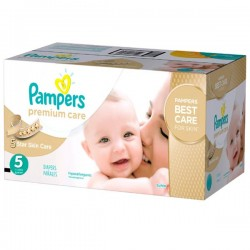 Maxi giga pack 390 Couches Pampers Premium Care taille 5 sur Couches Zone
