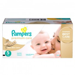 Maxi mega pack Maxi mega pack Couches Pampers Premium Care taille 5 sur Couches Zone