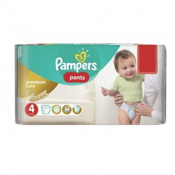 Pack 66 Couches Pampers Premium Care Pants taille 4 sur Couches Zone