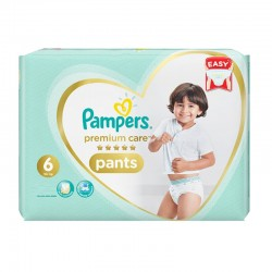 Pack 36 Couches Pampers Premium Care Pants taille 6 sur Couches Zone