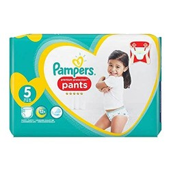 Pack 68 Couches Pampers Premium Protection Pants taille 5 sur Couches Zone