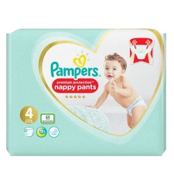 Pack 76 Couches Pampers Premium Protection Pants taille 4 sur Couches Zone
