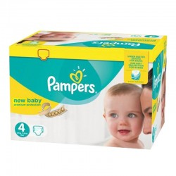 Pack jumeaux 768 Couches Pampers New Baby Premium Protection taille 4 sur Couches Zone