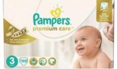 couche bébé Pampers Premium care